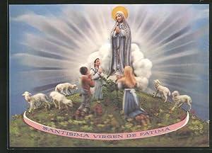 af4eae2fafa 3D-Ansichtskarte Santisma Virgen de Fatima
