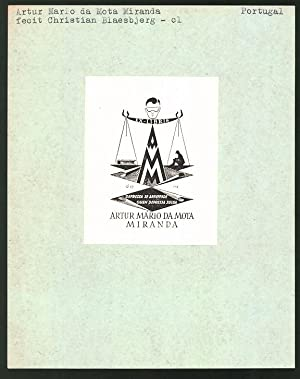 Exlibris von Christian Blaesbjerg für Artur Mario