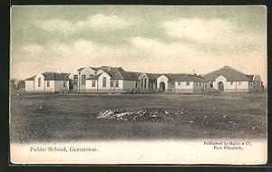 Ansichtskarte Germiston, Public School, Schule