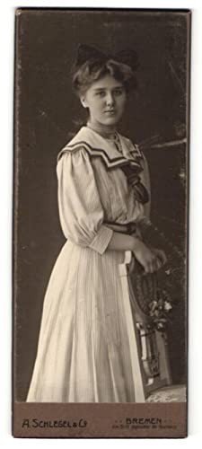 Fotografie A. Schlegel, Co., Bremen, Portrait Fräulein
