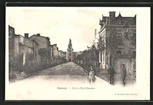 Carte postale Epernay, Avebue Paul Chandon