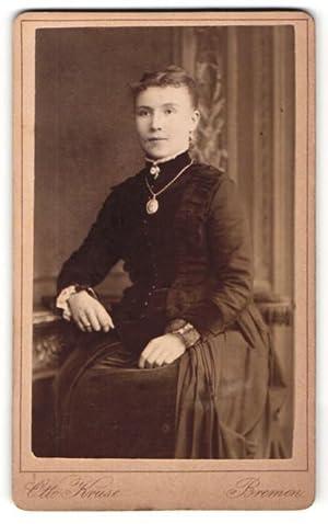Fotografie Otto Kruse, Bremen, Portrait junge Frau