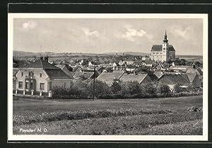 Ansichtskarte Poysdorf, Totalansicht