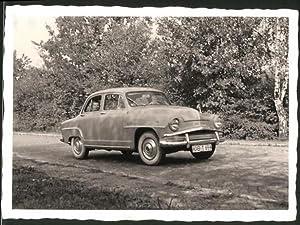 Fotografie Auto Simca Aronde, Knabe sitzt hinten