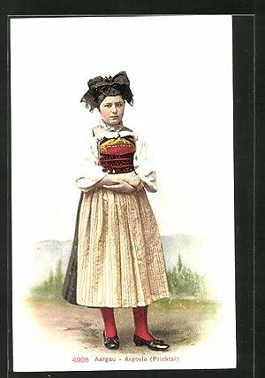 Ansichtskarte Aargau - Argovue, Maid aus Fricktal