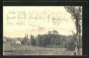 Ansichtskarte Greifenberg, Blick zum Schloss