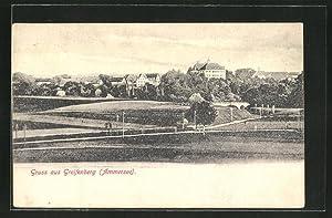 Ansichtskarte Greifenberg am Ammersee, Stadtansicht
