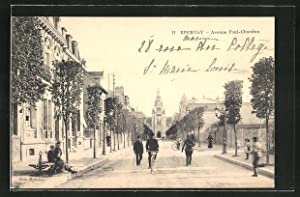 Carte postale Epernay, Avenue Paul-Chandon