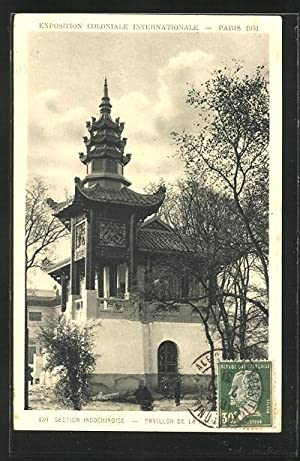 Ansichtskarte Paris, Exposition coloniale internationale 1931, Section Indochinoise