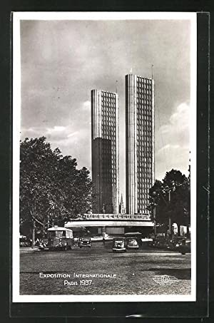 Ansichtskarte Paris, Exposition internationale 1937, Porte de la Place l'Alma