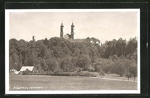 Ansichtskarte Roggenburg / Schwaben, Ortspartie mit Blick