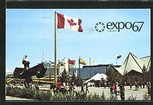 Ansichtskarte Montreal, Expo67, Vue d'Ensemble de l'ile