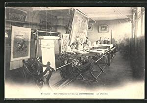 Carte postale Beauvais, Manufacture Nationale