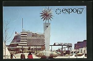 Ansichtskarte Montreal, Canada, expo67, Le Pavillon de