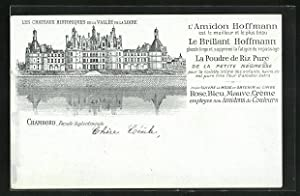 Carte postale Chambord, Facade Septentrionale
