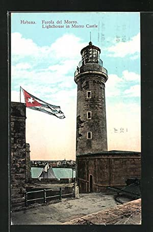 Ansichtskarte Habana, Lighthouse in Morro Castle