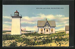 Ansichtskarte Provincetown, Mass., Wood End Light-House, Leuchtturm