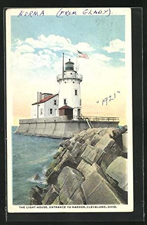 Ansichtskarte Cleveland, Ohio, The Light House, Leuchtturm