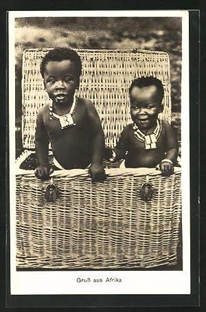 Große Beute afrikanischer Mädchen