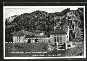 ansichtskarte walchensee panorama ZVAB