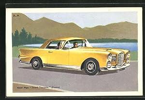 Ansichtskarte Facel Véga Automobil vom Typ Grand