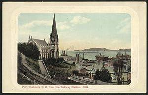 Ansichtskarte Port Chalmers / N. Z., Panorama