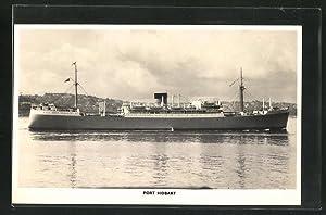 Ansichtskarte Handelsschiff Port Hobart in Fahrt