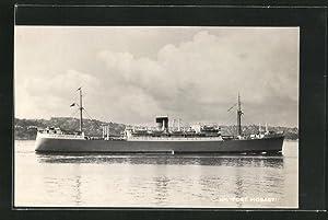 Ansichtskarte Handelsschiff M.V. Port Hobart bei der