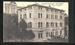 Cartolina San Remo, Pension Mafalda