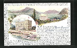 Lithographie Lugano, Hotel-Pension Europe