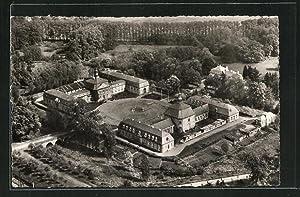 Ansichtskarte Wickrath, Das Schloss aus der Luft