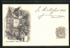 Carte postale La Réole, Maison du Prince