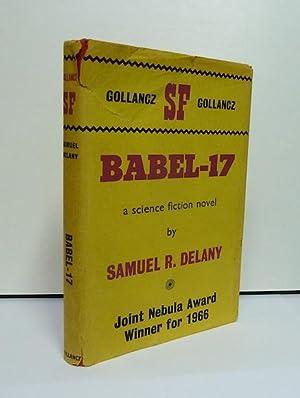 BABEL-17 1st UK edition and 1st hardback: Delany, Samuel R.