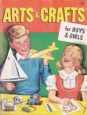 Arts & Crafts for Boys & Girls: Fletcher, Helen Jill