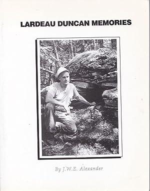 Lardeau Duncan Memories: J. W. E.