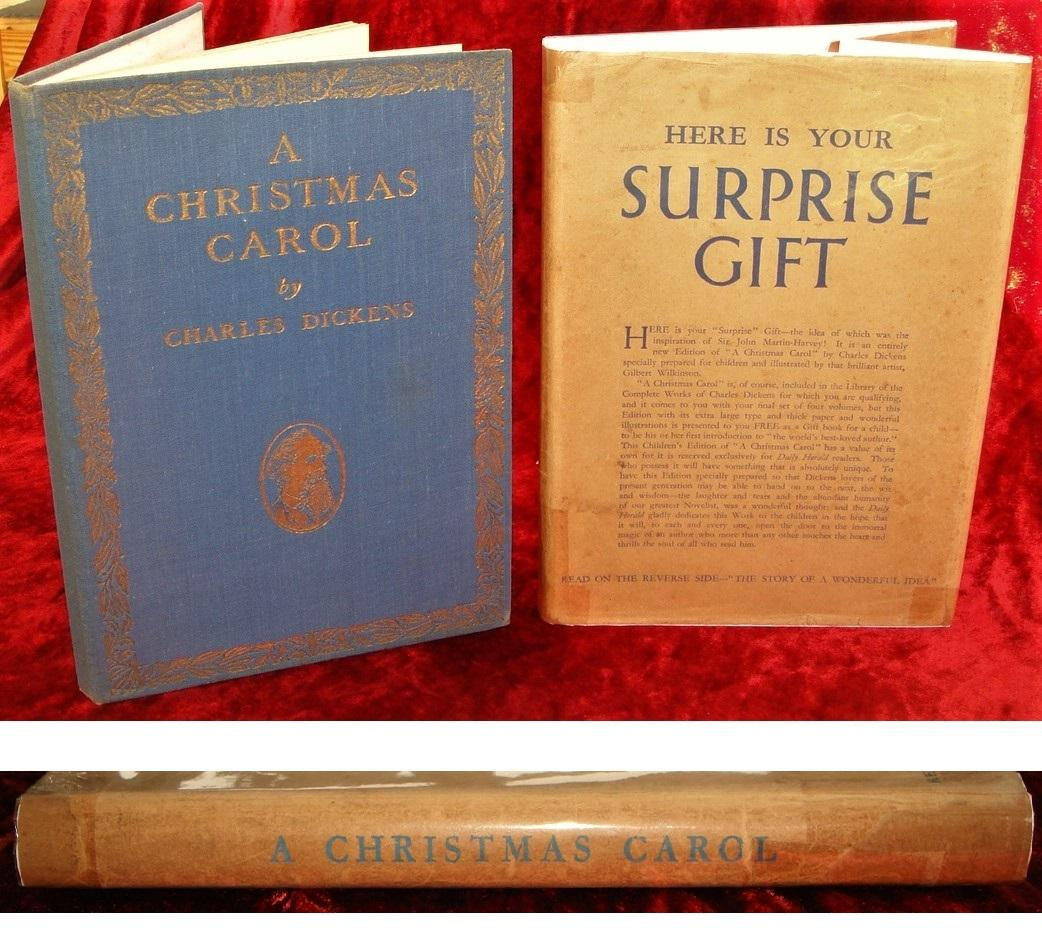 A Christmas Carol Book.A Christmas Carol Here Is Your Surprise