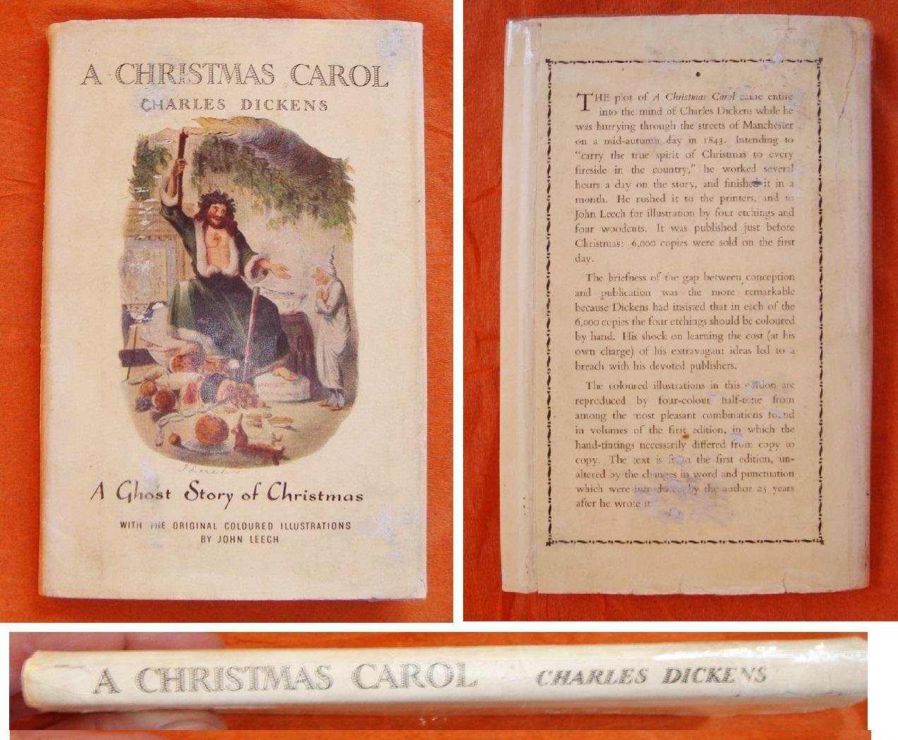 christmas carol first edition replica