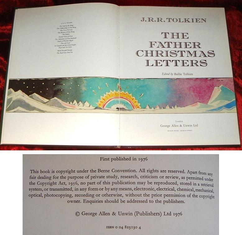 the father christmas letters bonus item jrr tolkiens last will testament jrr - Father Christmas Letters