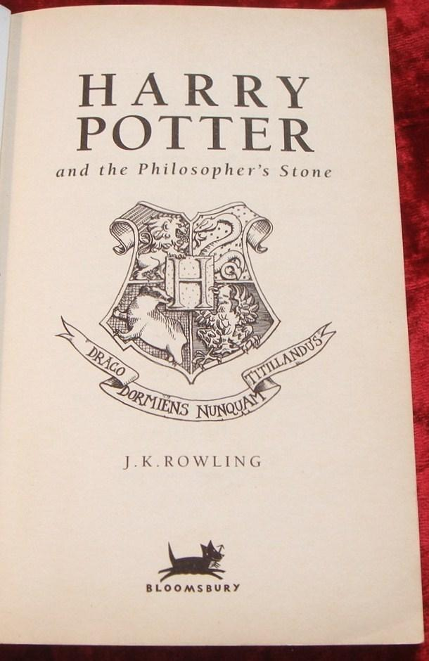 harry potter and the philosopher u0026 39 s stone by jk rowling