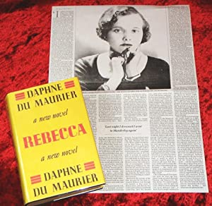 Rebecca & BONUS NEWSPAPER ARTICLE ABOUT DAPHNE: Daphne Du Maurier
