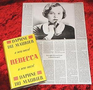 Rebecca & BONUS NEWSPAPER ARTICLE ABOUT DAPHNE: Daphne Du Maurier