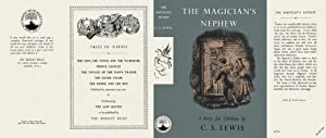 THE MAGICIAN'S NEPHEW - Facsimile Dustjacket Only: C.S. LEWIS