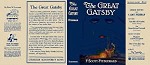 The Great Gatsby - Facsimile Dustjacket Only: F. Scott Fitzgerald