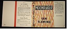 MOONRAKER - Facsimile Dustjacket Only - NO: Ian Fleming