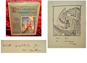 THE CHRONICLES OF BROTHER WOLF - 'I am a Beast ; but I am near You' - Hand Signed by Author & Ini...
