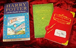 Trio of JK Rowling - Chamber of Secrets and 2 Bonus OOP's