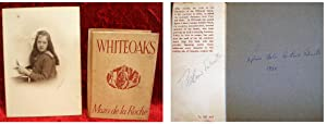 WHITEOAKS - [Hand-Signed By Theodore Rowland-Entwistle] [His Book]