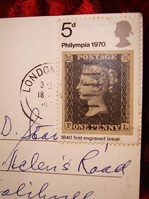 PHILYMPIA-INTERNATIONAL PHILATELIC EXHIBITION: Penny Black from 1840