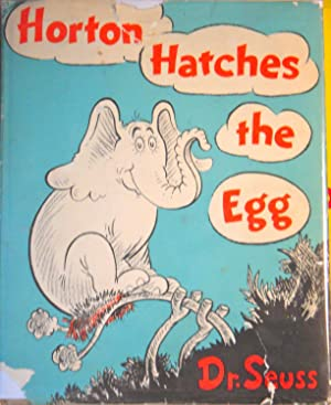 Horton Hatches the Egg - With Dust: Dr. Seuss