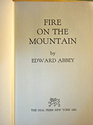 Fire on the Mountain: Abbey, Edward